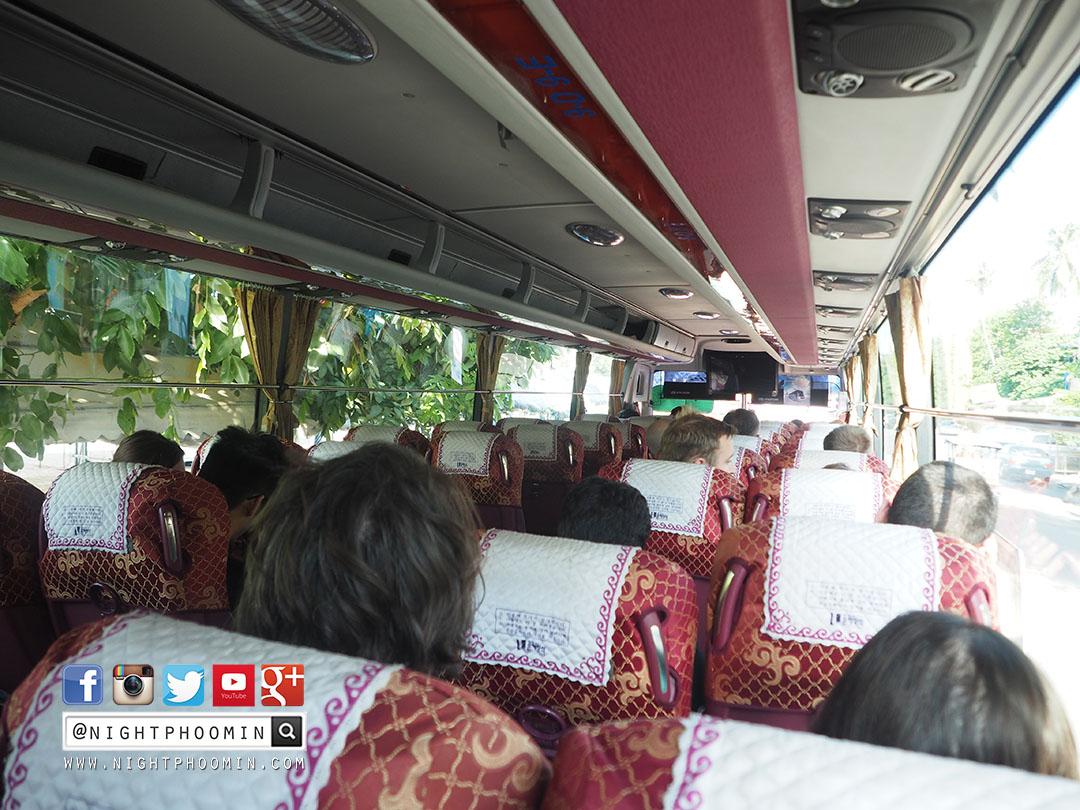 รถบัส, พนมเปญ, โฮจิมินห์, กัมพูชา, เวียดนาม, phnom penh, ho chi minh city, bus, travel blogger, blogger, รถบัส, ด่านผ่านแดน, วีซ่า, visa