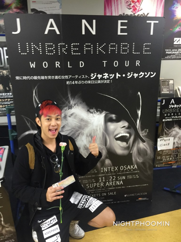 janet jackson, japan, tokyo, unbelievable world tour, ท่องเที่ยว,travel, รีวิว, pantip, พันทิป, review, blogger, บล็อกเกอร์, บล็อกเกอร์ผู้ชาย,บล็อกเกอร์ท่องเที่ยว, travel blogger