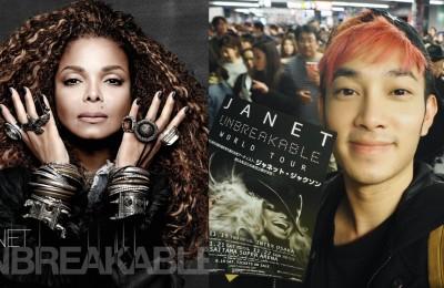 Janet unbelievable tour japan cover