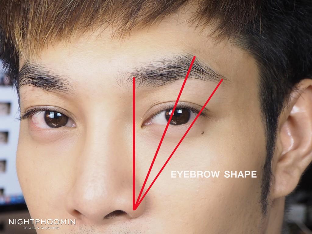 eyebrow-shape-ถอนคิ้ว