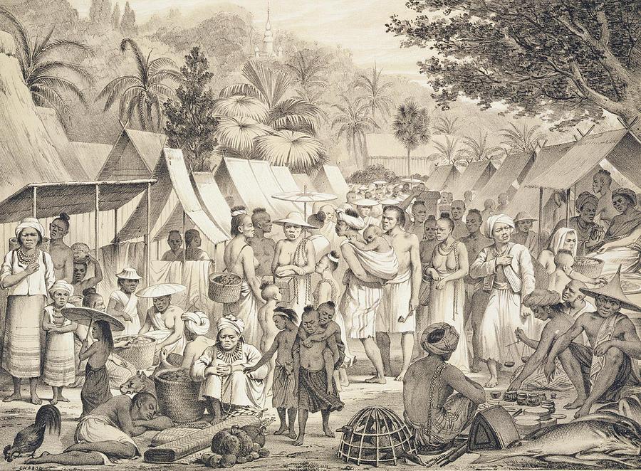 market-at-luang-prabang-laos-louis-delaporte