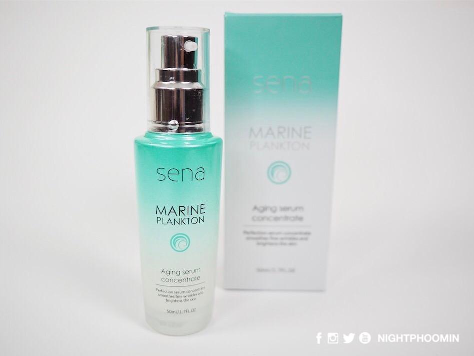 Sena Marine Plankton Aging Serum Concentrate 06