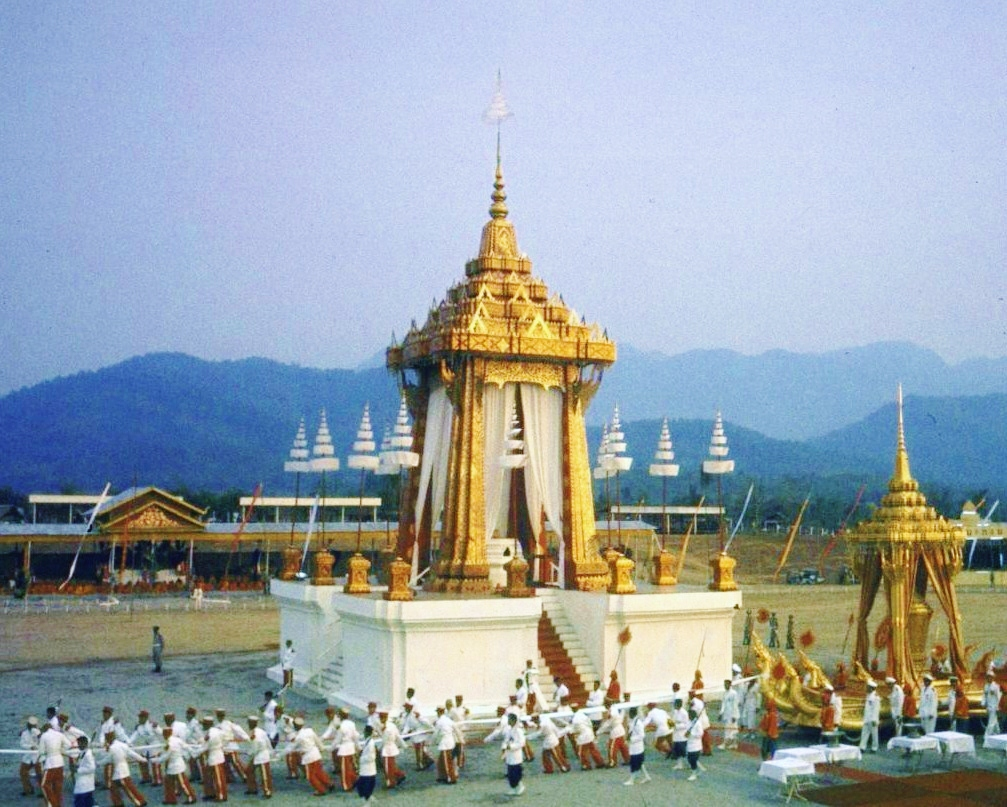 funeral ceremony laos king 1